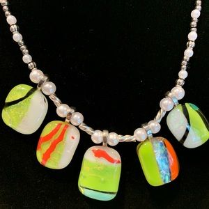 Artisan made necklace20""